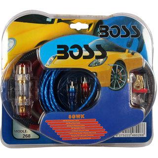 Boss - Amplifier Installation Wiring Kit - 8 Guage