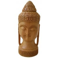 Wooden Lord Buddha - The Woods Hut
