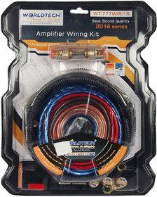 Worldtech Amplifier Wiring Kit - 8 Guage - Wt-777Wir/16