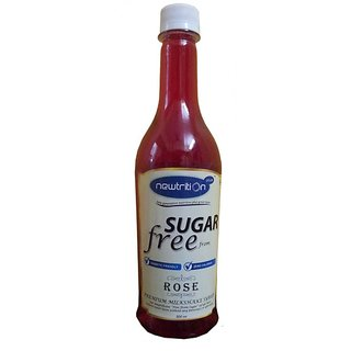 Sugar Free Rose Syrup - 500ml
