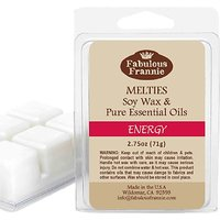 ENERGY 2.5oz Of 100% Pure & Natural Soy Candle Meltie/T
