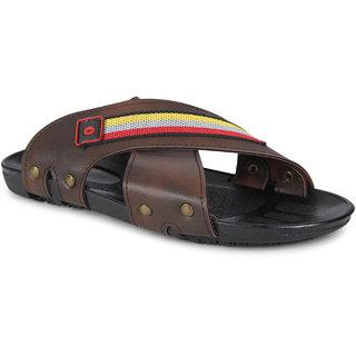 Smart Wood mens Brown  Casual  Sandals