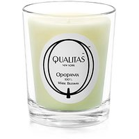 Qualitas Beeswax 6-1/2-Ounce Candle, Opopanax Scented
