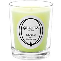 Qualitas Beeswax 6-1/2-Ounce Candle, Tuberose Scented
