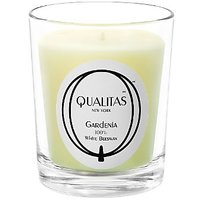 Qualitas Beeswax 6-1/2-Ounce Candle, Gardenia Scented