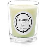 Qualitas Beeswax 6-1/2-Ounce Candle, Fennel Scented