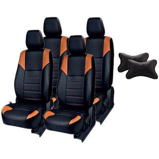 Autodecor Maruti Esteem Black Leatherite Car Seat Cover with Neck Rest  Free
