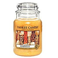 Yankee Candle Company Harvest Large Jar Candle