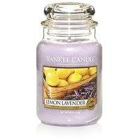 Yankee Candle Company Lemon Lavender Large Jar Candle