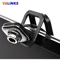 VAlinks USB HD Webcam Square Shaped PC Web Cam Computer Camera with Mic / Microphone & Clip for Laptops Desktop Video Calling, Recording, Skype, Windows Live, Yahoo Video Messenger