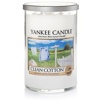 Yankee Candle Company Clean Cotton Large 2-Wick Tumbler