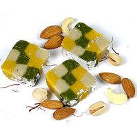 Sugar Free Tirangi Squares (500 Gms)