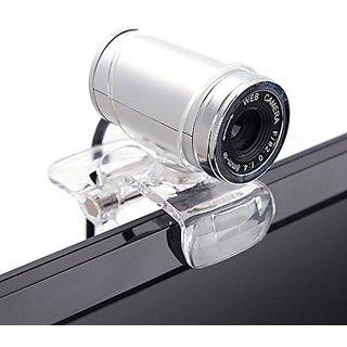 Cimkiz USB 2.0 HD Webcam,Web Cam With MIC Clip-on 360 D