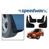 Speedwav Car Mud Flaps For Maruti Alto Set Of Four Pieces