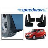 Speedwav Car Mud Flaps For Maruti Alto-800 Set Of Four Pieces