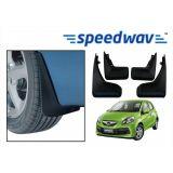 Speedwav Car Mud Flaps For Honda Brio Set Of Four Pieces