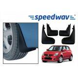 Speedwav Car Mud Flaps For Maruti Swift Set Of Four Pieces