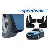 Speedwav Car Mud Flaps For Maruti Dezire New Set Of Four Pieces