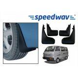 Speedwav Car Mud Flaps For Maruti Van Set Of Four Pieces