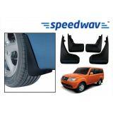 Speedwav Car Mud Flaps For Tata Sumo Set Of Four Pieces