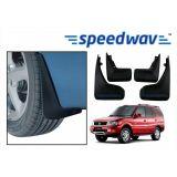 Speedwav Car Mud Flaps For Tata Safari Set Of Four Pieces