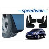 Speedwav Car Mud Flaps For Hyundai Verna Set Of Four Pieces