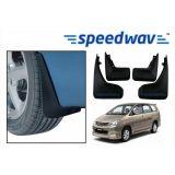 Speedwav Car Mud Flaps For Toyota Innova Set Of Four Pieces