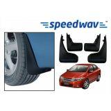 Speedwav Car Mud Flaps For Honda City New Set Of Four Pieces