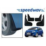 Speedwav Car Mud Flaps For Fiat Punto Set Of Four Pieces