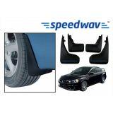 Speedwav Car Mud Flaps For Mitsubishi Lancer Set Of Four Pieces