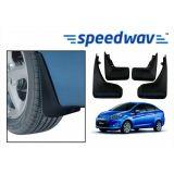 Speedwav Car Mud Flaps For Ford Fiesta 2011 Set Of Four Pieces