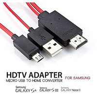 Bipra 2m Micro USB MHL to HDMI Cable Adapter HDTV for Samsung galaxy S3, S4, Note 2, and Galaxy Tab 3 10.1