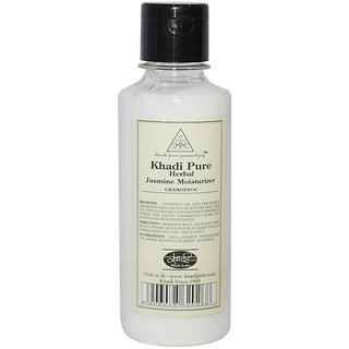Khadi Pure Herbal Jasmine Moisturizer - 210ml