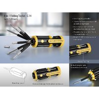 8-in-1 Folding Toolkit (with 7 LED Torch)