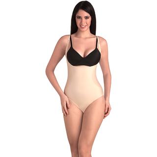 cde93baa3cd4f Buy Swee Opal - Women S Shapewear - Full Body Shaper Brief - Beige ...