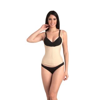 Swee Pearl - Women'S Shapewear - Open Bust Tummy Clincher - Beige - Large
