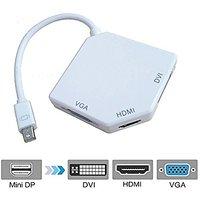 NAMEO Mini 3-in-1 Display Port DP To DVI VGA HDMI TV AV