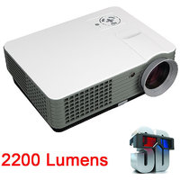 RD801 2000 Lumens LED Projector TV HDMI Portable Multim