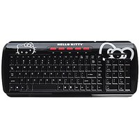 Hello Kitty Wireless Keyboard - Black (90509)