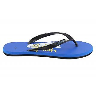 Crazeis Comfortable Blue Slippers For Men'S.