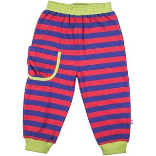 Hugabug Bright Stripe Pants in Organic Cotton