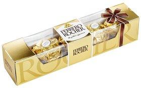 Ferrero Rocher Chocolate (5 Pcs x 2 Qty) With Teddy (100 gms.)