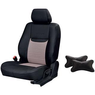 Autodecor Tata Safari storme Black Leatherite Car Seat Cover with  Neck Rest  Free