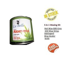 Body Aloevera Wax KIt 600 Gram 100 Wax Strips