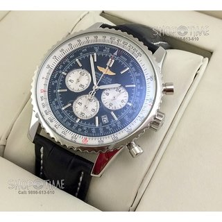 Breitling Navitimer Mens Swiss Watch With Original Box