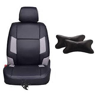 Autodecor Hyundai Creta Black Leatherite Car Seat Cover with Neck Rest  Free