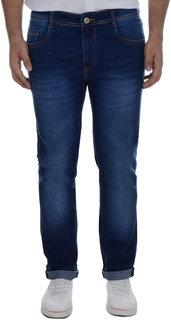 Ben Martin Men's Regular Fit Blue Denim Jeans