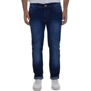 Ben Martin Men's Regular Fit Blue Denim Jeans