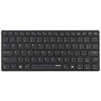 Rapoo | E6350-B Bluetooth Mini Keyboard - BLACK / Blade Series