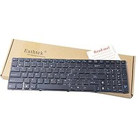 Eathtek Replacement Keyboard With Frame For ASUS K50 X5